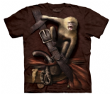 UNISEX PIRATE WITH HOWLER MONKEY T-SHIRT
